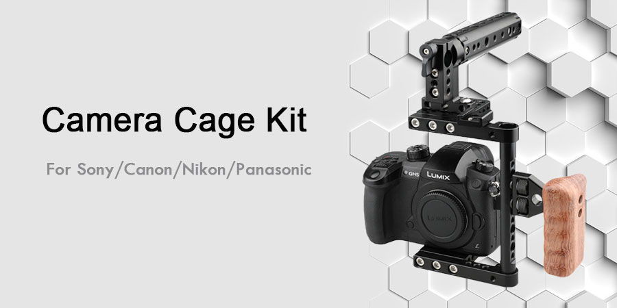 Camera cage for sony/canon/nikon/panasonic