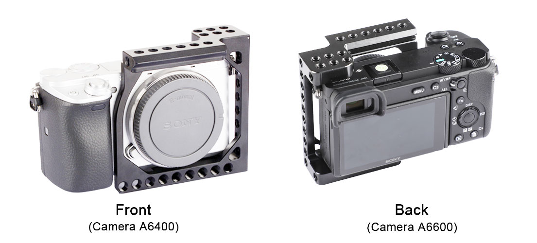 HDRiG Camera Cage Frame For Sony A6400 / A6600 & Canon Eos M / M10