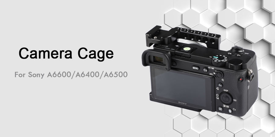 HDRiG Camera Cage Kit for Sony A6500/A6400/A6600 4K Cameras
