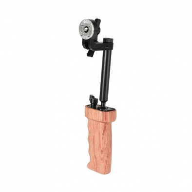 Wooden Handgrip With Rosette Mount