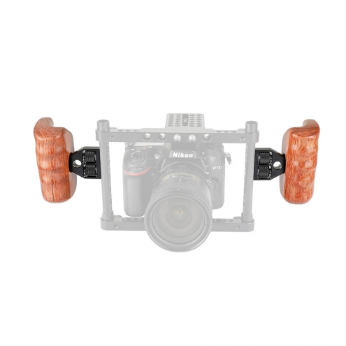 Wooden Handgrip for Camera Cage