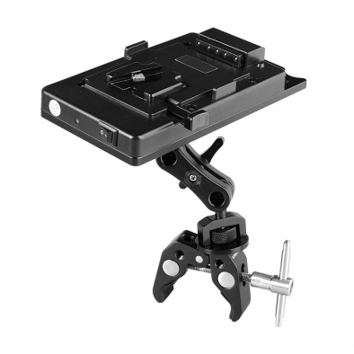 Super Clamp WIth Battery Plate