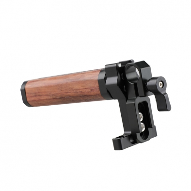 Single Rod Clamp Wooden Grip