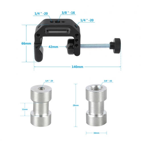 C-Clamp With Thread Screw Adapter