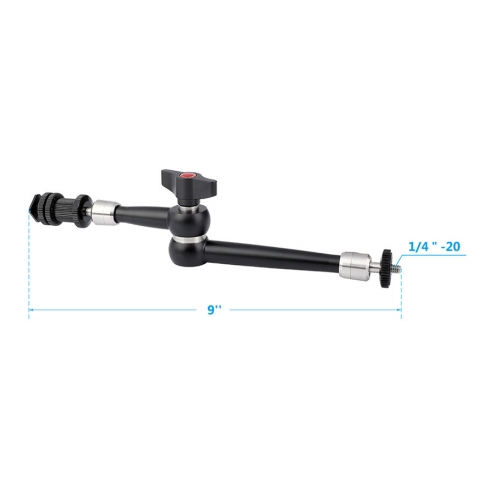 Heavy-duty 9'' Articulating Arm