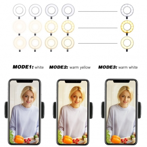 Selfie Ring Light Clamp Stand
