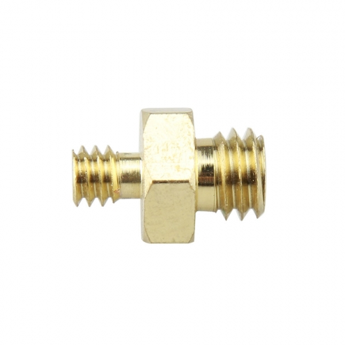 1/4 to 3/8 Double Male Screw Adapter