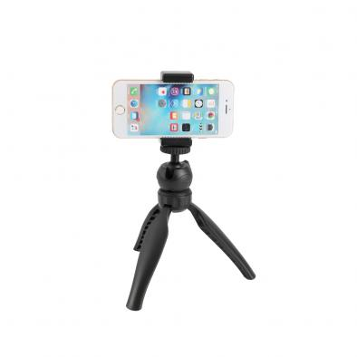 Mini Tripod with Smartphone Clamp