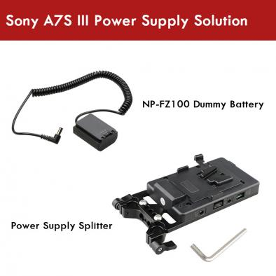 Sony A7SIII Power Supply Solution