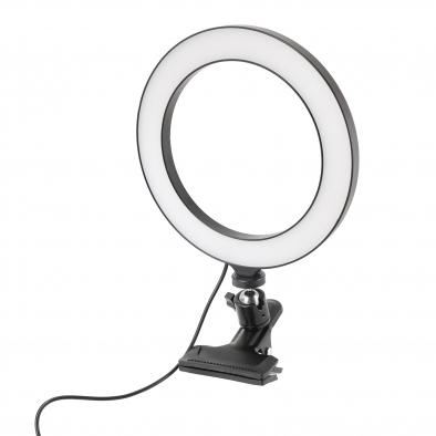 LED Ring Light with Mount Clip Clamp