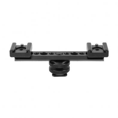 Double-end Hot Shoe Mount NATO Rail