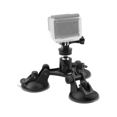 HDRiG Car Mount Triple Suction Cup Mount
