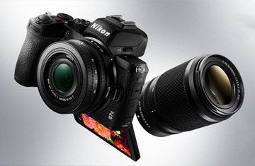 Nikon New Mirrorless Camera--Z50
