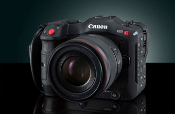 Canon Released the First RF Mount Cinema Camera Canon EOS C70