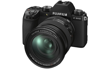 New FUJIFILM X-S10 Mirrorless Camera